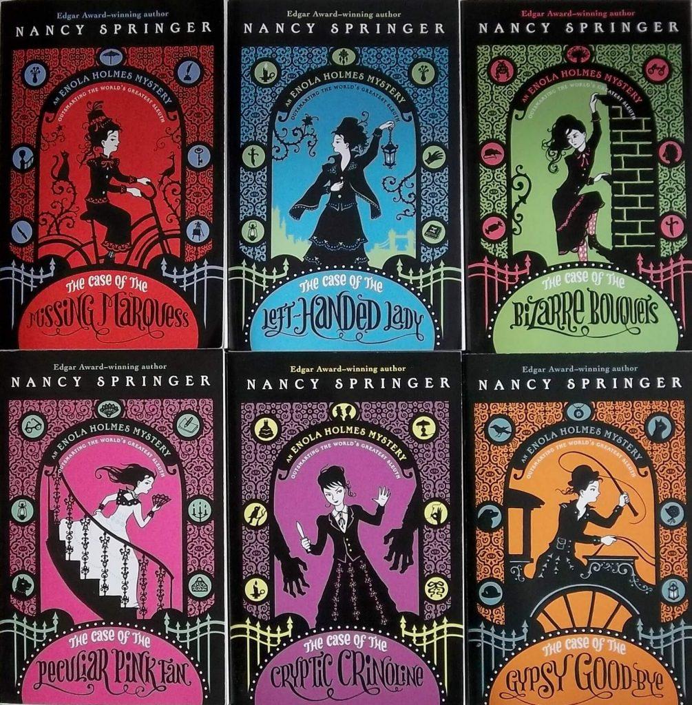 Enola Holmes libros que debes leer o regalar