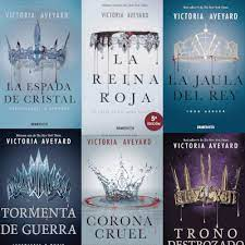 Victoria Aveyard libros para leer o regalar