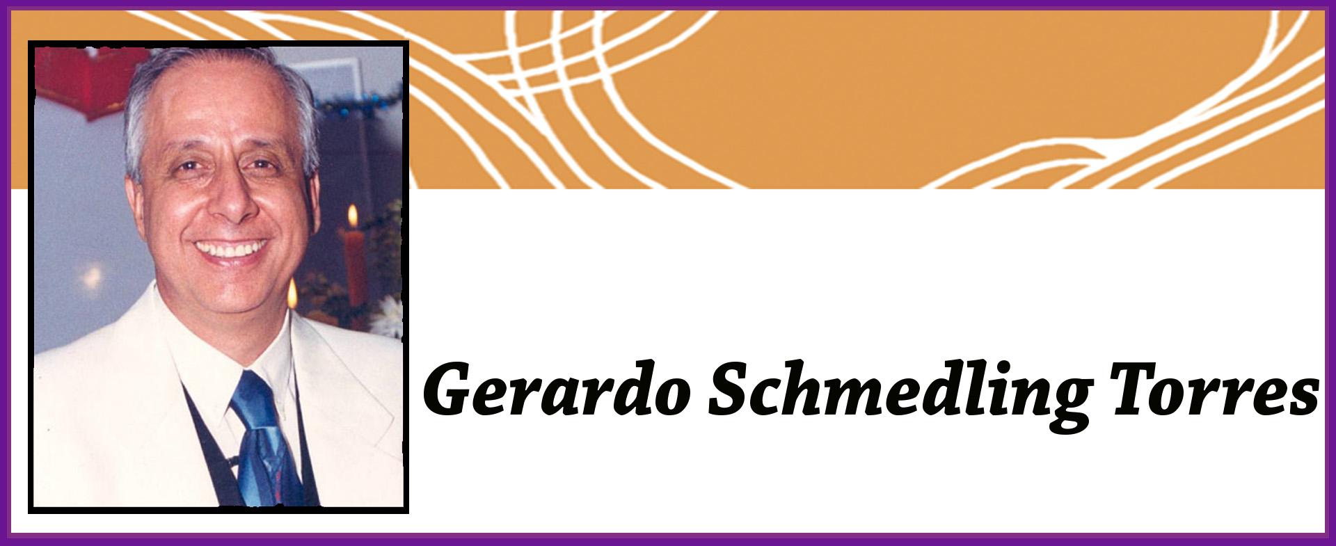 Gerardo Schmedling libros para leer y regalar